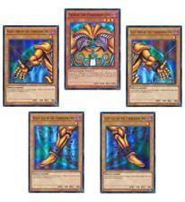 Exodia the Forbidden One Set - YGLD - Ultra Rare