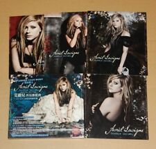 Avril Lavigne Goodbye Lullaby Taiwan Ltd CD DVD Promo Postcards RARE W/Slipcase