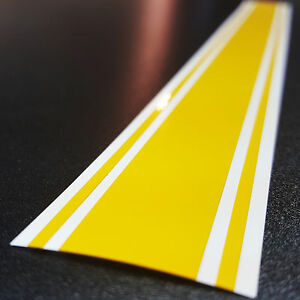 "2"" x 72"" Vinyl Racing Stripe Pinstripe Decals Stickers *18 COLORS* Stripes"