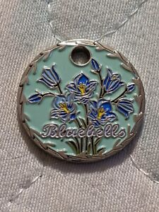 2021 - Bluebells pathtag (geocoin alt) geocaching swag
