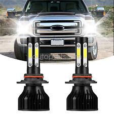 4-sides 9012 LED Headlights Hi Low Beam 6000K White FOR CHRYSLER 300 2014-2016
