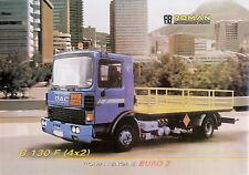 Prospectus Go camion roman DAC 8.130 F 4x2 9/02 camion brochure 2002 brochure Europe