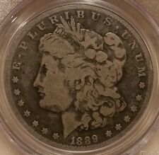 1889 CC MORGAN DOLLAR GRADED G 6 BY PCGS!!!!