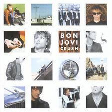 Crush by Bon Jovi (CD, May-2000, Mercury) w/ no booklet or jewel case