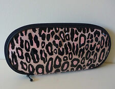 MAC Pink Animal Print Makeup / Brush Bag, Designed by Liz Goldwyn, Brand NEW!