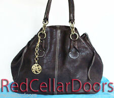 Auth New ESCADA SPORT Shopper Bag Neverfull GM Sz Tote Deerskin Leather Rare!