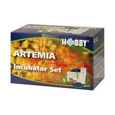 HOBBY INCUBADORA set-aufzuchtset para artemia nauplien Transmisión EN VIVO Lbs