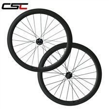 25mm Width U Shape 50mm Clincher Road Disc brake hub carbon fiber wheels