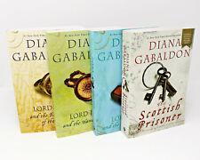 LORD JOHN GREY Series by Diana Gabaldon Set of LARGE TRADE PAPERBACKS 1-4