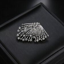 Hot Women Boho Cuff  Elegant Crystal Rhinestone Ear Stud Clip Earrings Jewelry