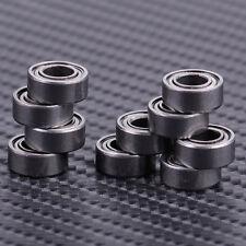 New 10x Silver MR105 MR105ZZ Miniature Bearings Ball Mini Bearing 5 X 10 X 4mm