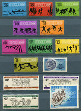 Mexico 1966-1968 19th Olympic Games full set of stamps MNH** , XF+