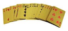 Goldenes Kartenspiel - Veredeln Sie Ihre Kartentricks - Zaubertrick Zauberkarten