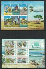 More details for various channel islands miniature sheets all unmounted mint (a78)