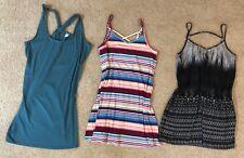 22p Women's Summer/Vacation Clothing Lot Size 8/Medium Tanktops/Skirts/Shorts