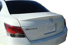 PAINTED REAR WING SPOILER FOR A HONDA ACCORD 4-DOOR LIP FACTORY 2008-2012