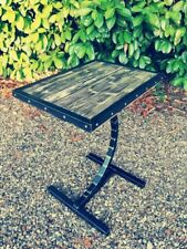Industrial chic handmade tables