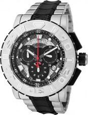 New Mens Invicta 6310 Reserve Ocean Hawk Black Dial Chronograph Watch