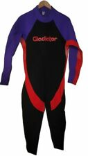Gladiator Full Body Neoprene Wetsuit Water Sports XXL Back Zip Purple Black