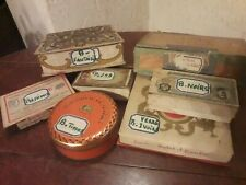 Lot de 7 boites boutons anciens