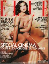 Elle French Magazine 20 Mai 2002 Monica Bellucci High Fashion 091619AME