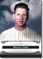 50) WHITEY FORD - New York Yankees - 2012 Leaf National PROMOTIONAL Card LOT