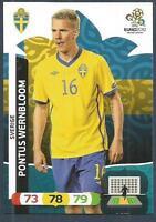 PANINI EURO 2012-ADRENALYN XL-SVERIGE-SWEDEN-PONTUS WERNBLOOM