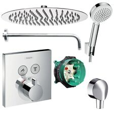 Hansgrohe Shower Select Unterputz Duscharmatur Set ibox Armatur Duschteller 30cm