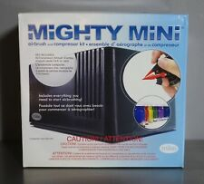 MIGHTY MINI - TESTORS AIRBRUSH AND COMPRESSOR SET - NEW IN BOX - NO PAINTS