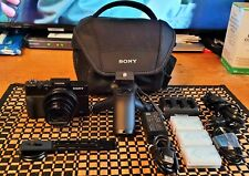 Sony Cyber-shot DSC-RX100 VII digital camera. With extras!!!