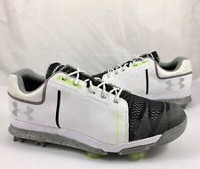 Under Armour Women's Size 9.5 Ua Tempo Sport Golf Shoes White Black Retail $140
