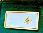 Two tone Gold/Silver FreeMason Masonic Money Clip