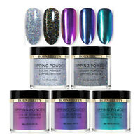 5 Boxes BORN PRETTY Holographic Chameleon Dipping Powder Nail Polish Starter Kit