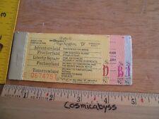 1970's Disneyland ticket books lot of 2 Tom Sawyer's Island Skyway Fantasyland