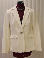 NWT $168 BODEN WOMEN'S CREAM EMBROIDERED BLENHEIM BLAZER JACKET WE429 - US 10P