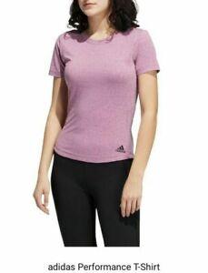 Adidas Performance T-shirt Ladies Size: Medium (12-14)