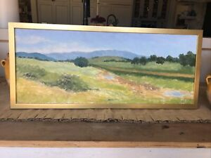 "Vintage Original CALIFORNIA LANDSCAPE,""Ojai"",c.1980-2000"