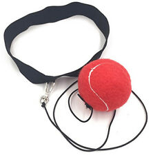 Upgraded Boxing Punch Exercise Fight Ball Head Band Reflex Speed Training Box US
