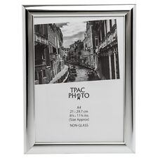 Shiny Silver A4 (21x29.7cm) Certificate Photo Picture Display Frame Table Wall