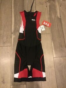 Tyr Trisuit Backzip Size Small Brand New