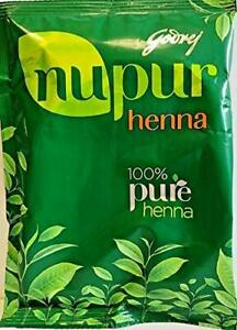 NUPUR HEENA MEHANDI (PLS NOTE ITS PURE HENNA) 400G  100% NATURAL + FREE GIFT
