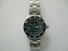 nos MIRVAINE DIVER STYLE LADIES QUARTZ WATCH,SCREW DOWN CROWN, MINERAL CRYSTAL