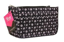 Periea Daisy Handbag Organiser - Black Paw Print - BNWT
