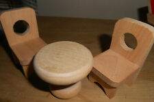 Dining Room Miniature Chair Sets for Dolls