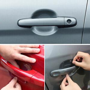 4x Invisible Auto Car Door Handle Films Sticker Anti Scratch Protector Accessory