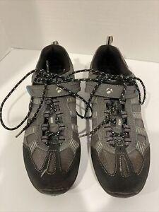 Bontrager SSR Touring Mountain Bike  Shoes Women's Size  7.5 EU 39   Gray Teal