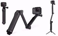 GoPro hero 5 Accessory 3-Way Grip Foldable Selfie Stick Extension Monopod 5+6