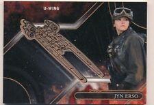 Topps Star Wars Galactic Files Reborn Bronze Medallion Card VM-JN Jyn Erso