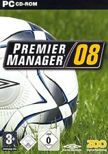 Premier Manager 08 2008 - Fussballmanager Pc Neu/Ovp