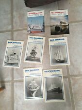 Sea Breezes Ships And The Sea Magazines 1969 & 1976